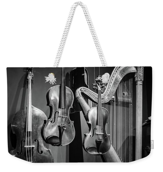 Stringed Instruments Weekender Tote Bag