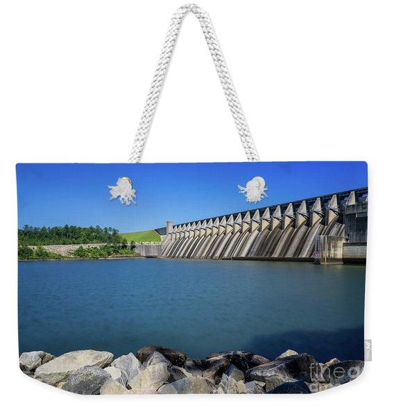 Strom Thurmond Dam - Clarks Hill Lake Ga Weekender Tote Bag