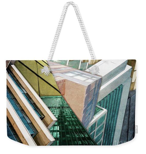 Structure Of Buildings Weekender Tote Bag