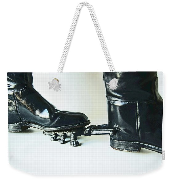 Studio. Boots And Boot Pull. Weekender Tote Bag