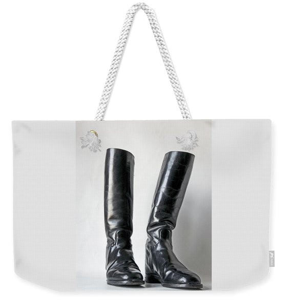 Studio. Riding Boots. Weekender Tote Bag