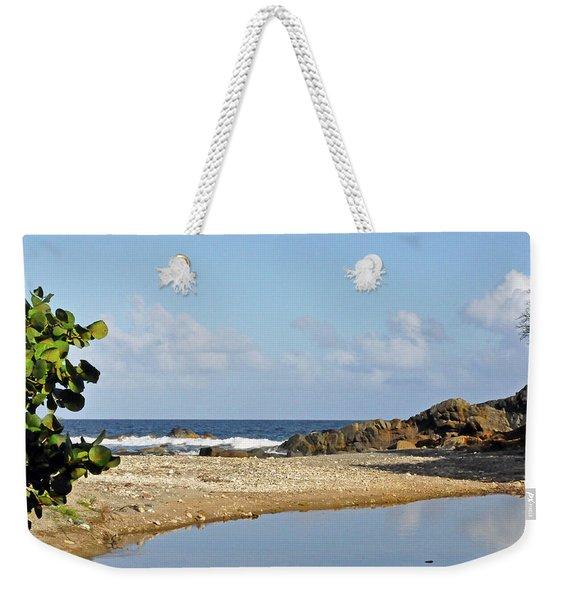 Stumpy Bay Beach Weekender Tote Bag