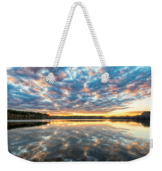 Stumpy Kinda Of Reflection Weekender Tote Bag