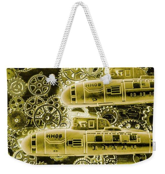 Submersible Seas Weekender Tote Bag