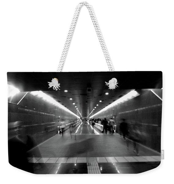 Subway Ghosts Weekender Tote Bag