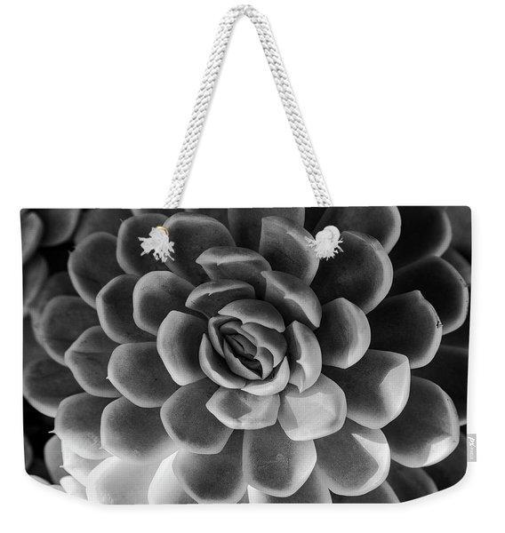 Succulent - Bw - 2 Weekender Tote Bag