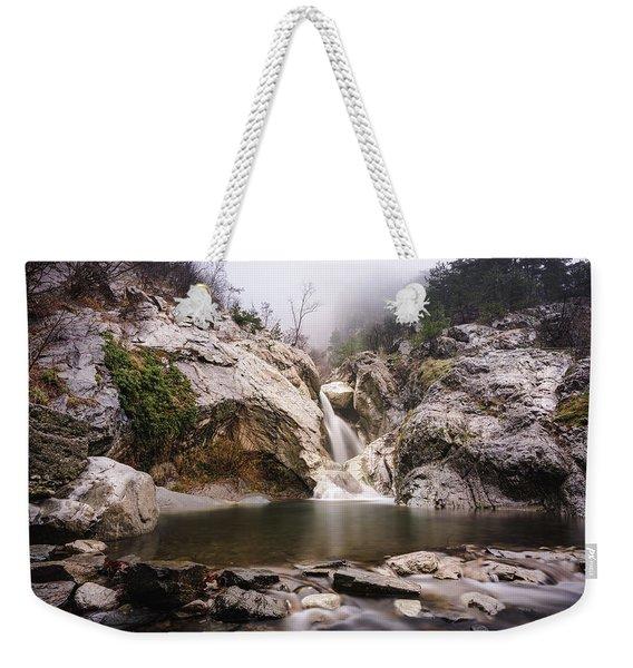 Suchurum Waterfall, Karlovo, Bulgaria Weekender Tote Bag