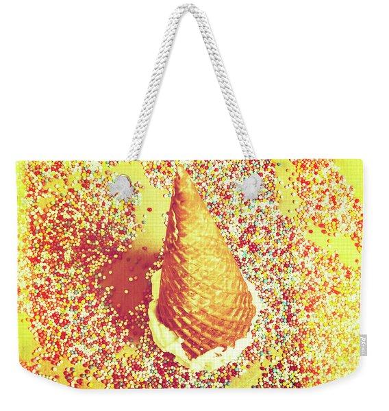Sugar Coated Weekender Tote Bag