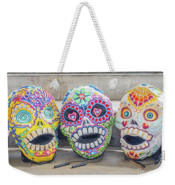Sugar Skulls Weekender Tote Bag