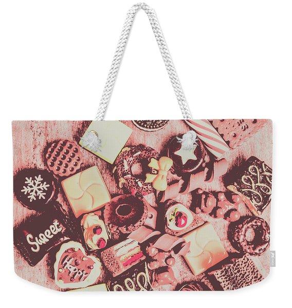 Sugar Sweet Assortment Weekender Tote Bag