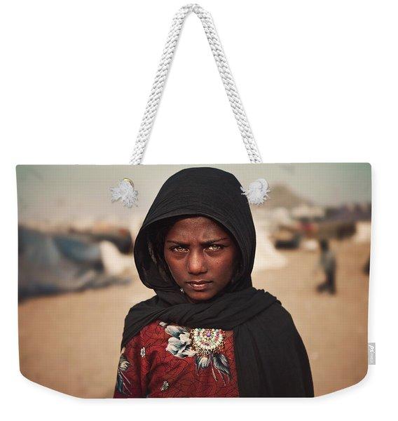 Suman Weekender Tote Bag
