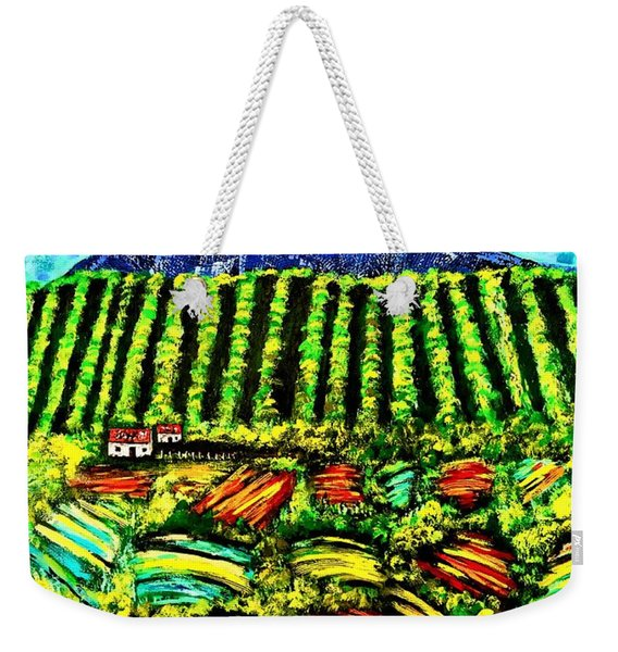 Sumatra Coffee Plantation Weekender Tote Bag