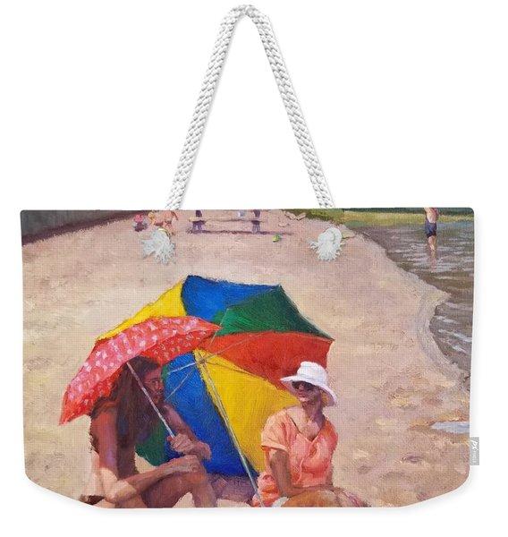 Summer At Jersey Valley Weekender Tote Bag