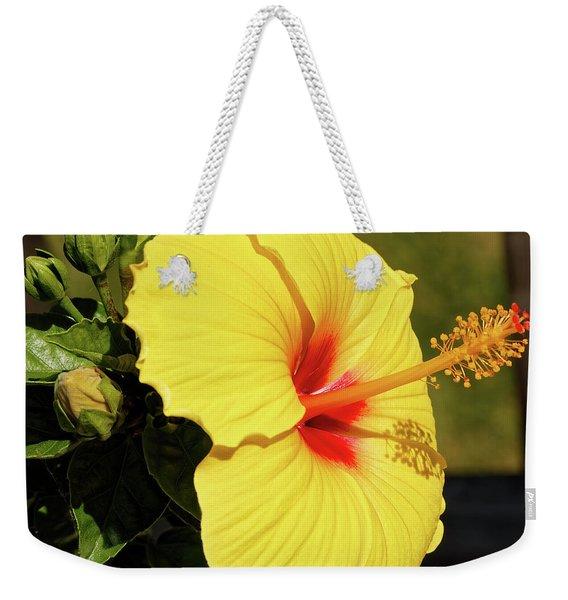 Summer Blooms Weekender Tote Bag