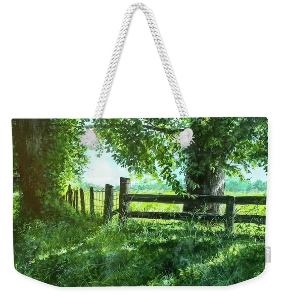 Summer Detour Weekender Tote Bag