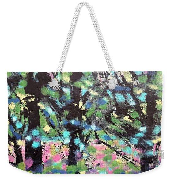 Summer Forest Weekender Tote Bag