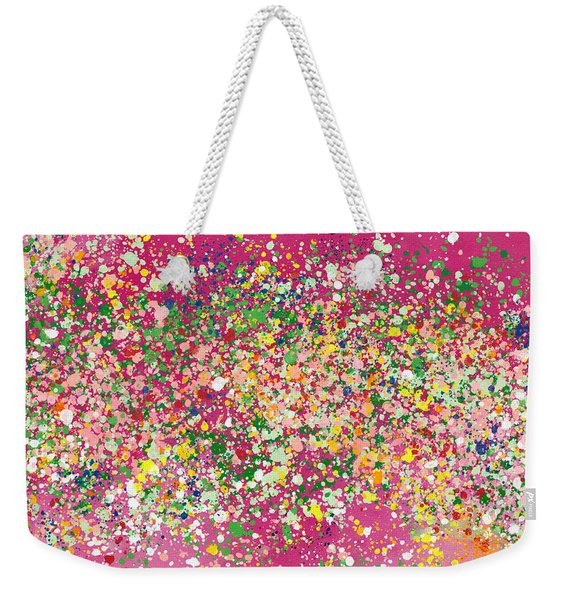 Summer Garden Party- Art By Linda Woods Weekender Tote Bag