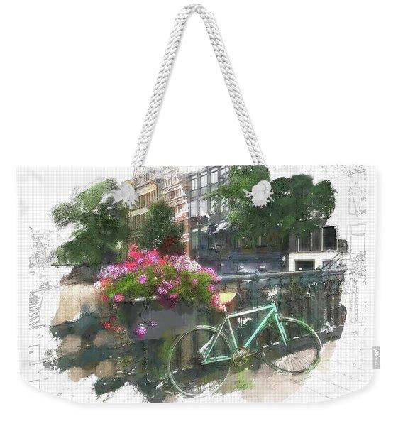 Summer In Amsterdam Weekender Tote Bag