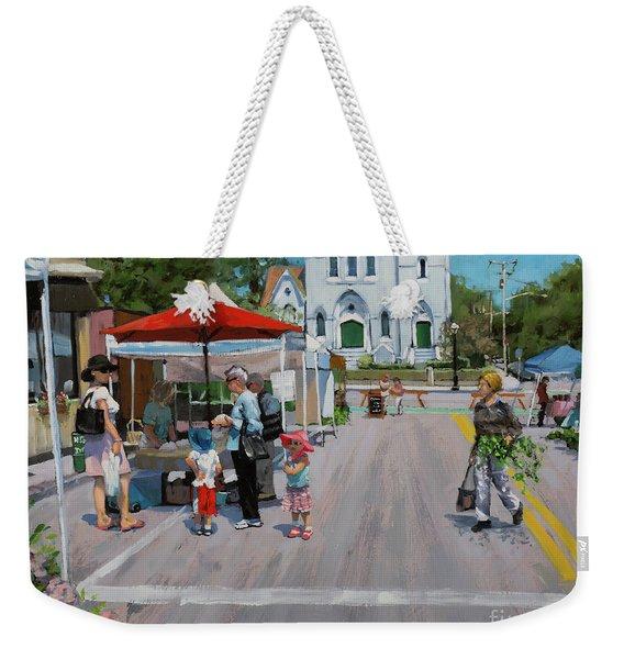 Summer In Hingham Three Weekender Tote Bag