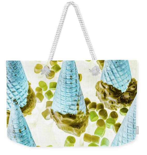 Summer Inversion Weekender Tote Bag