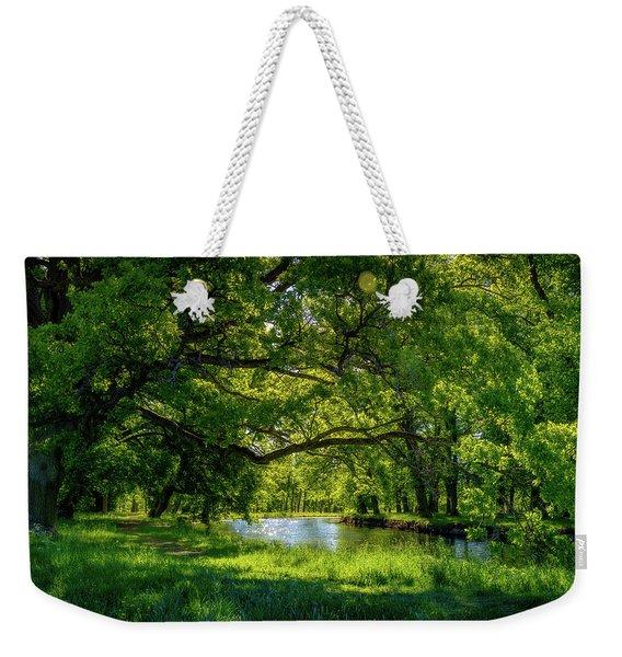 Summer Morning In The Park Weekender Tote Bag