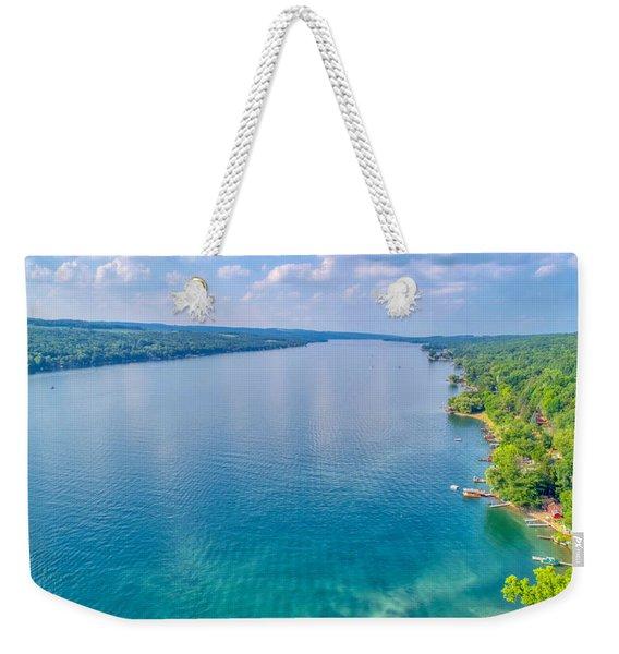 Summer On Keuka Lake Weekender Tote Bag
