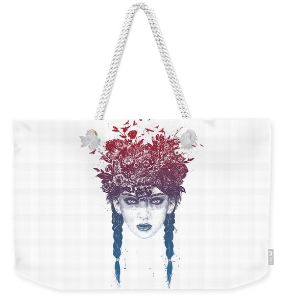 Summer Queen Weekender Tote Bag