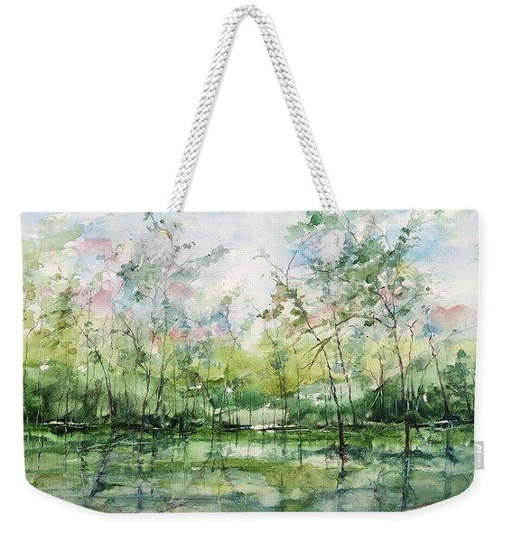 Summer Silence  Weekender Tote Bag