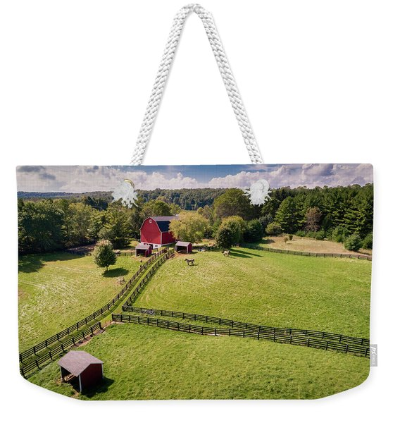 Summer Stable Weekender Tote Bag