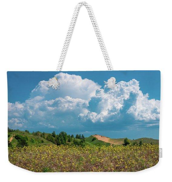 Summer Storm Over The Dunes Weekender Tote Bag