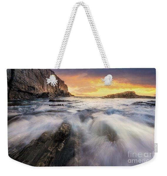 Summer Sunrise At Bald Head Cliff Weekender Tote Bag