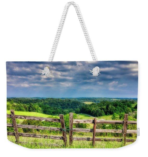 Summer Vista Weekender Tote Bag