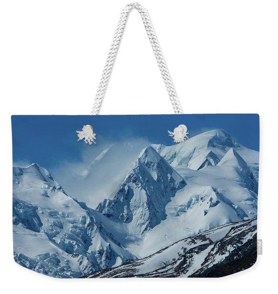 Summer Winds In Mount Cook National Park Weekender Tote Bag