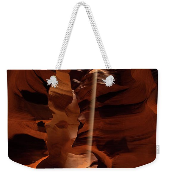 Sunbeam In Upper Antelope Canyon Weekender Tote Bag