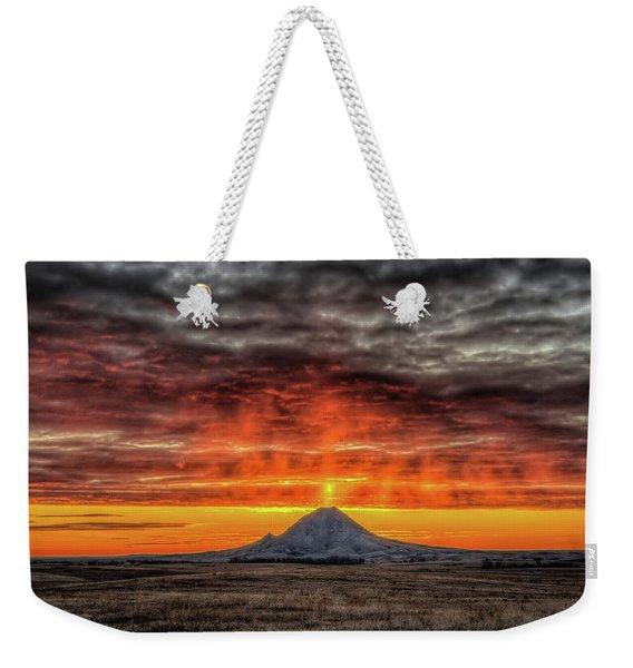 Sunday Sunrise Nov. 11, 2018 Weekender Tote Bag
