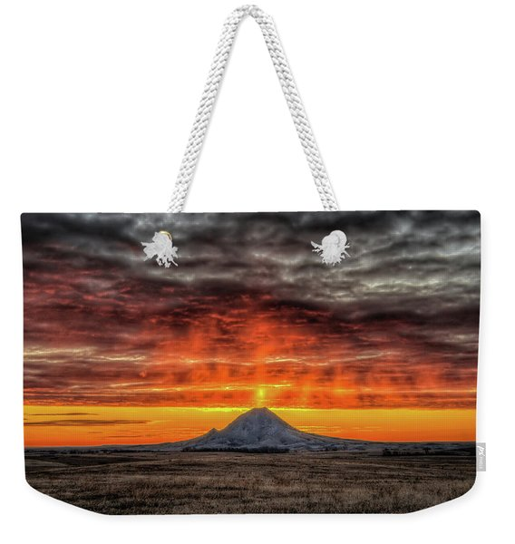 Sunday Sunrise Nov. 11, 2018 Weekender Tote Bag