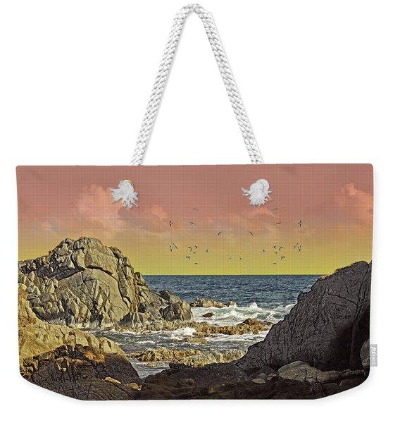 Sundown At Buck Weekender Tote Bag