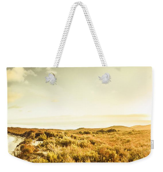Sundown Bend Weekender Tote Bag