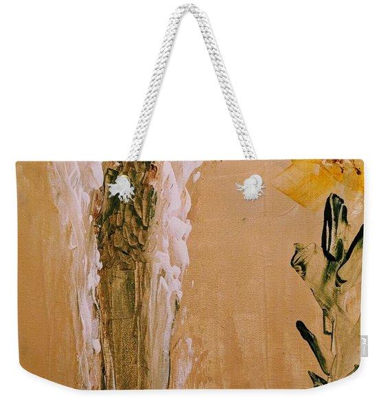 Sunflower Angel Weekender Tote Bag