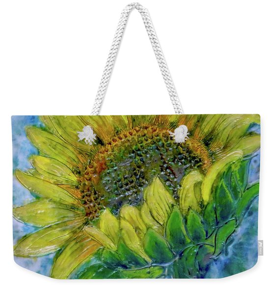 Sunflower Happiness Weekender Tote Bag