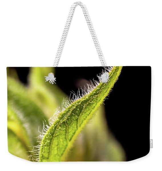 Sunflower Leaf Weekender Tote Bag