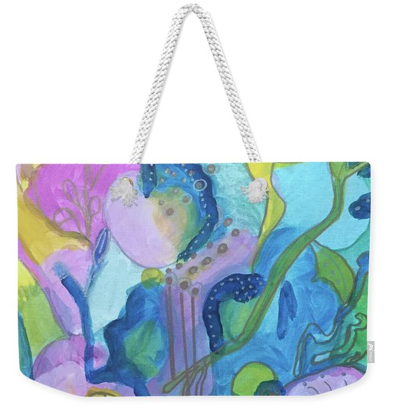 Sunny Day Abstract Weekender Tote Bag