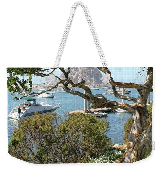 Sunny Day At Morro Bay Weekender Tote Bag