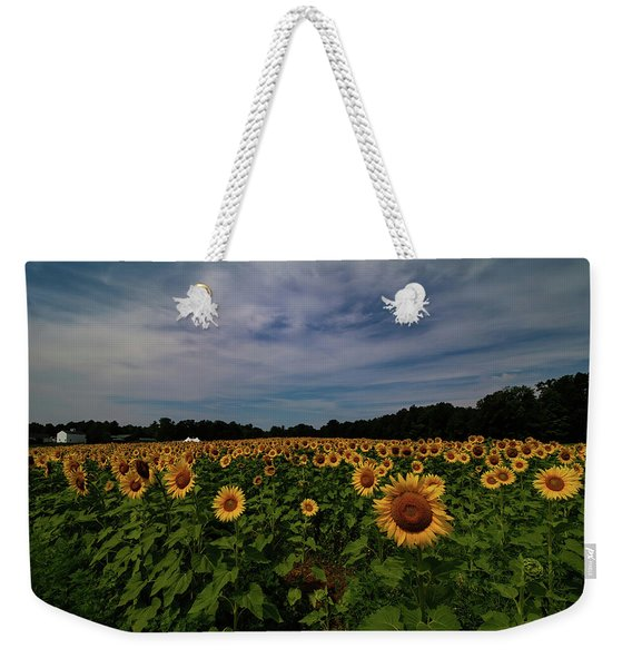 Sunny Faces In New Hampshire Weekender Tote Bag