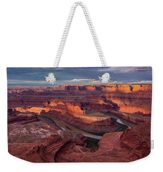 Sunrise At Dead Horse Point State Park Weekender Tote Bag