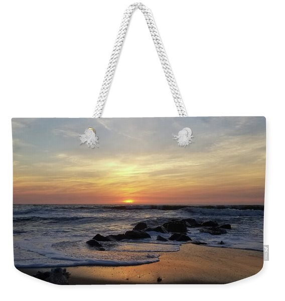 Sunrise At The 15th St Jetty Weekender Tote Bag