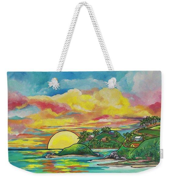 Sunrise At The Islands Weekender Tote Bag