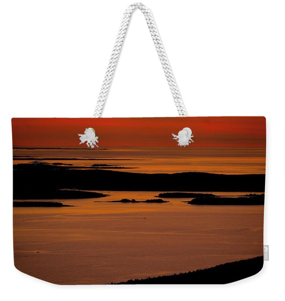 Sunrise Cadillac Mountain Weekender Tote Bag