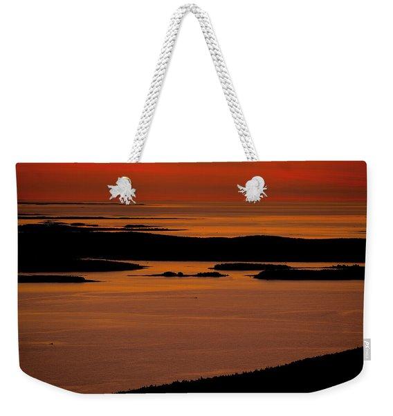 Sunrise Cadillac Mountain Weekender Tote Bag