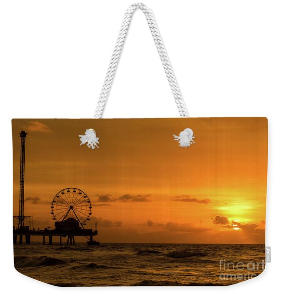 Weekender Tote Bag featuring the photograph Sunrise by Dheeraj Mutha